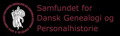 Samfundet for dansk genealogi og Personalhistorie